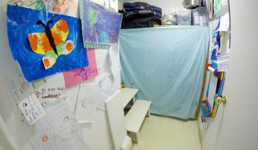 The art room is another highly utilized area when kids want to get some of their own space to create.